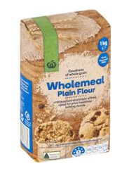 wholemeal plain flour