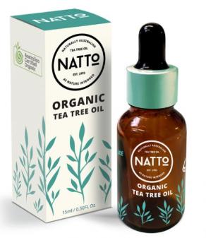 Natto organic tea tree oil