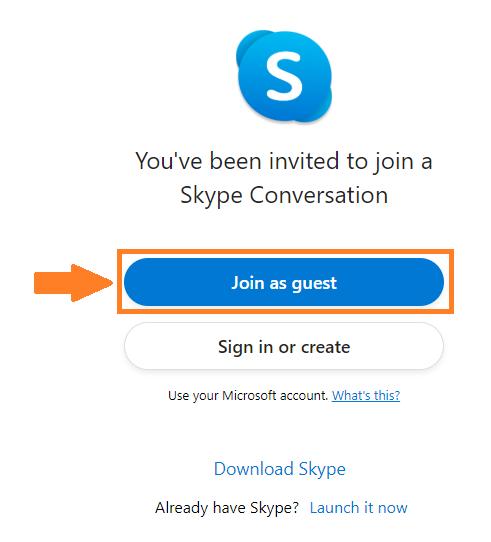 Skype画面