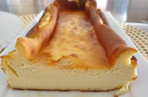 バスクチーズケーキ 断面