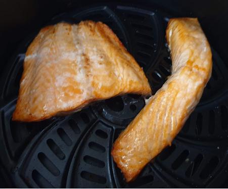 エアフライヤー 焼き魚