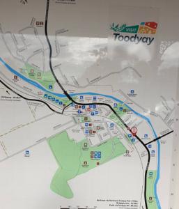 Toodyay地図